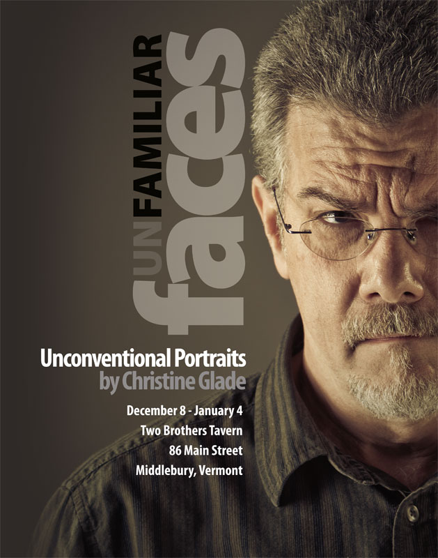 Exhibit of Portraits by Christine Glade
