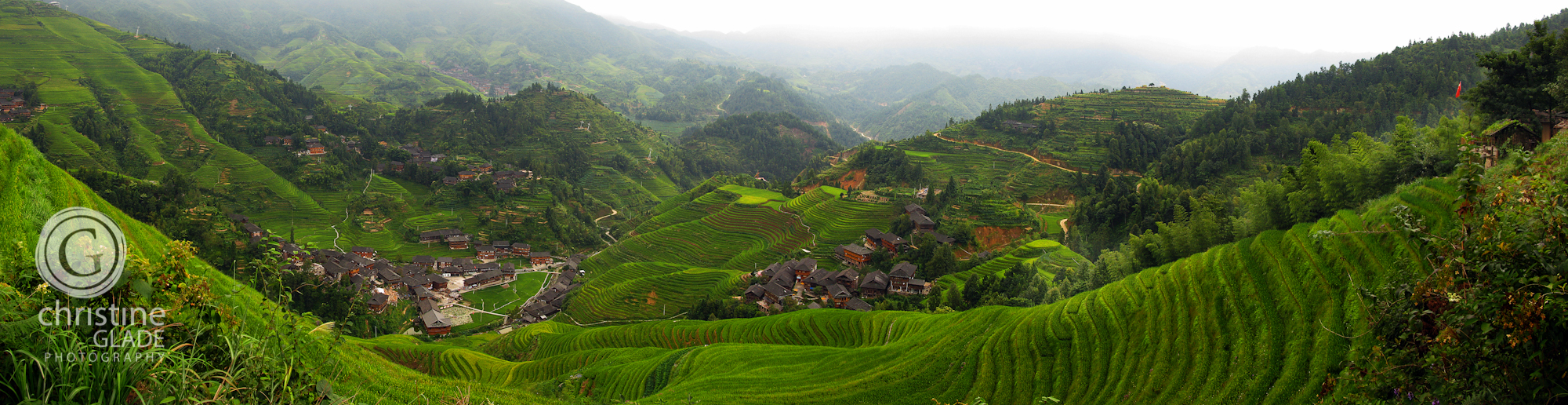 Hiking through China's Rice Terraces