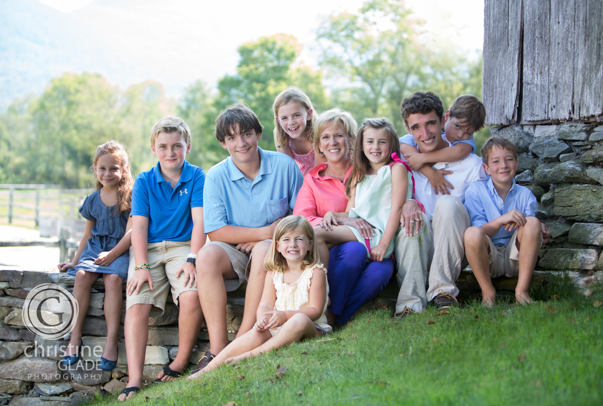 Southern Vermont Family portrait photographer