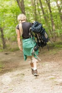 Tired Backpacker