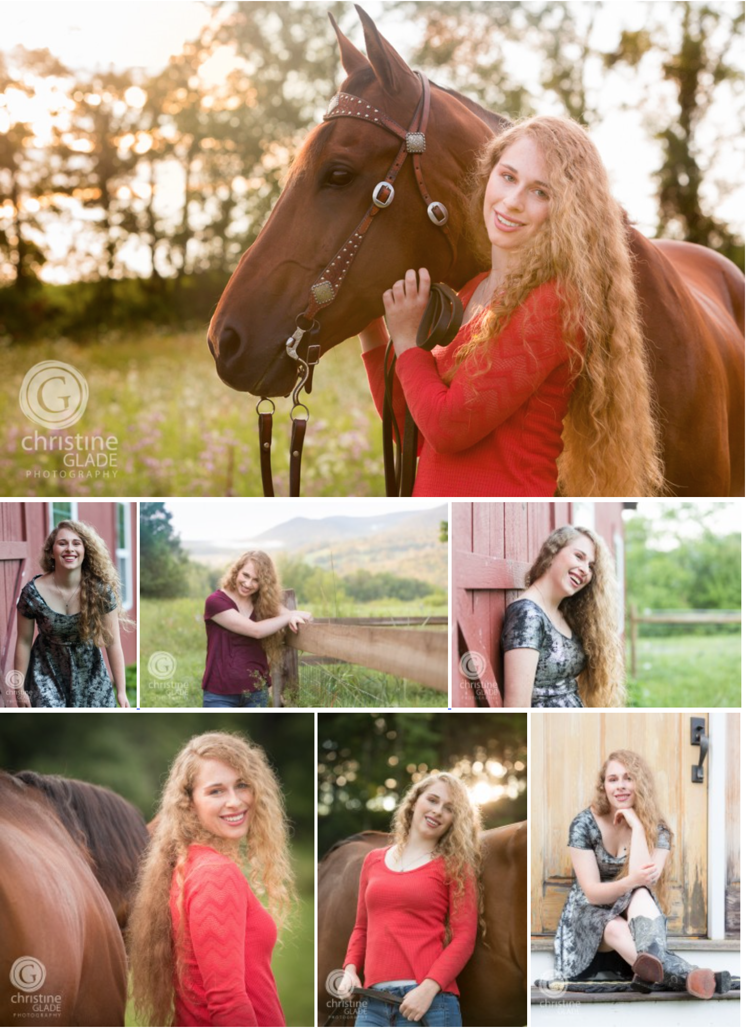 Authentic, Expressive Senior Portraits