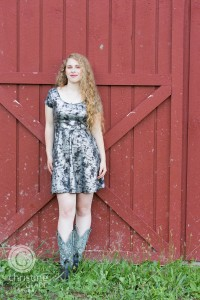 vermont senior portrait ideas