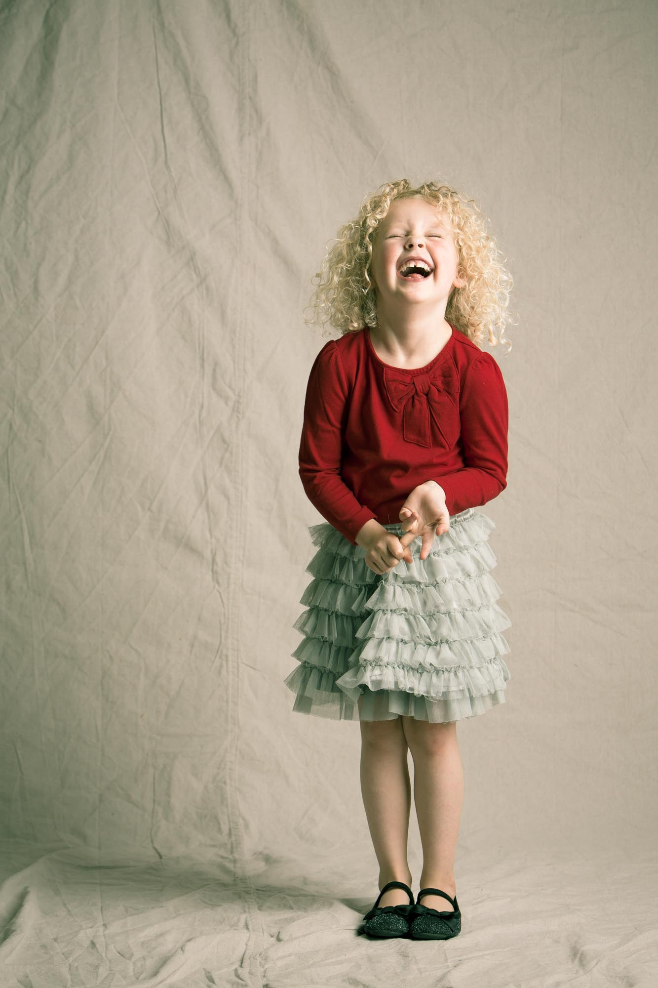 Expressive Portraits of Children